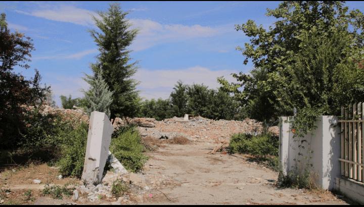 Shkolla nëntë vjeçare e Valiasit e shkatërruar nga Bashkia Kamëz, 7 gusht 2020